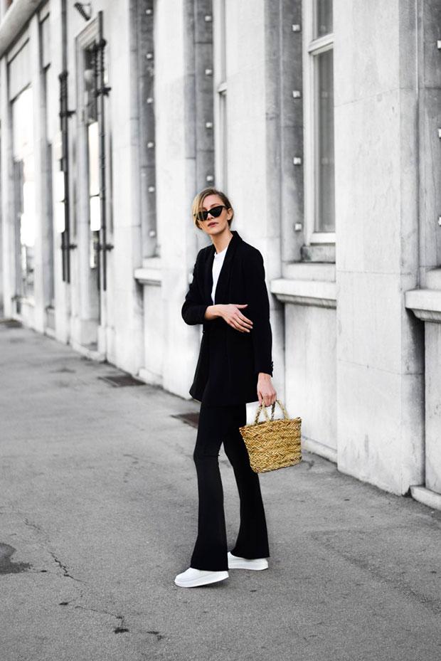 เสื้อสูท H&M, เสื้อ Asos, กางเกง Missy Empire, รองเท้า Jessica Buurman, กระเป๋า H&M