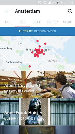 แอปพลิเคชั่นท่องเที่ยว Guides by Lonely Planet