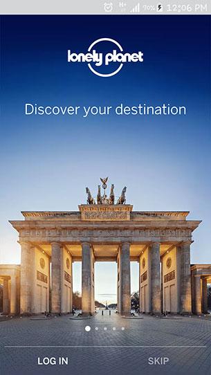แอพ Guides by Lonely Planet