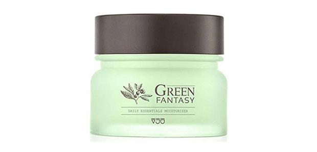 VJU Green Fantasy Facial Moisturizer Day And Night Cream