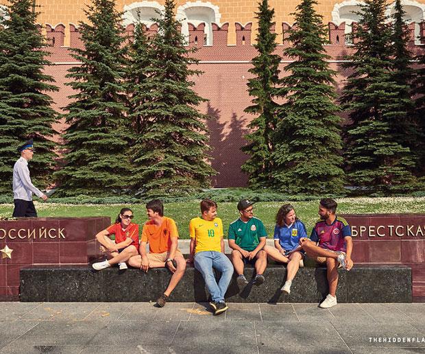 โบกธงสีรุ้งทั่วรัสเซีย