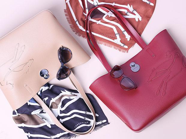 Shop it กระเป๋าหรูสไตล์มินิมอลจาก Longchamp