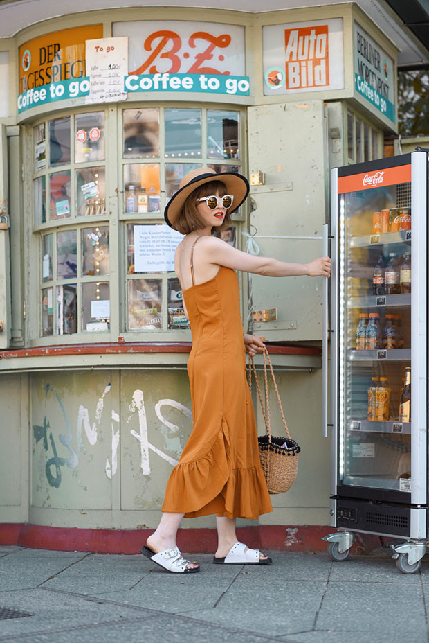 Weekday Dress, TK Maxx Shoes, H&M Bag