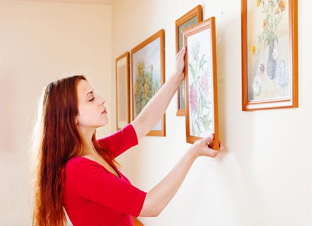 แขวนงานศิลปะที่คุณรัก