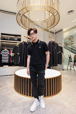 ทอม Room39 FRED PERRY