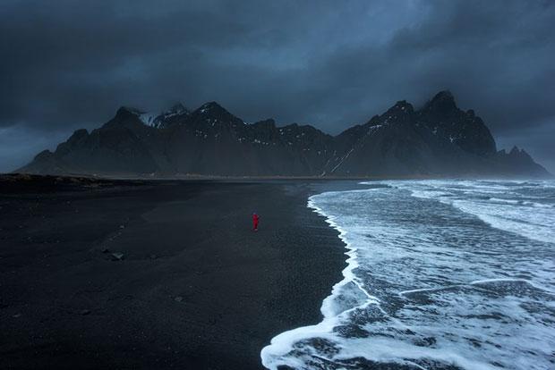หาดทรายดำ สต๊อกเนสส์ ไอซ์แลนด์